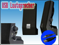 PC Lautsprecher mit USB Anschluss **NEU**