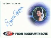 "EUNICE GAYSON ""AUTOGRAPH A160"" JAMES BOND MISSION LOGS"