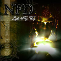 NFD 'Light My Way' / Unearthed 2006 gothic rock CD-Single Fields of the Nephilim