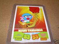 Topps Moshi Monsters MASH UP! Card BUSHY FANDANGO 53/53