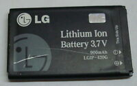 USED WORKING OEM LG 3.7V 900mAh Lithium Ion Battery LGIP-430G