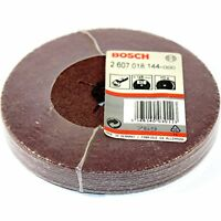 "20 BOSCH FIBRE SANDING DISCS 125MM 40G FOR 5"" ANGLE GRINDER - MADE IN GERMANY"
