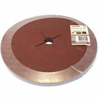 "10 BOSCH FIBRE SANDING DISCS 235MM 80G FOR 230MM / 9"" ANGLE GRINDER - GERMANY"