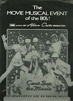 1980 Can't Stop the Music Movie program Bruce Jenner