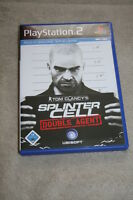 Tom Clancys Splinter Cell Double Agent Playstation 2