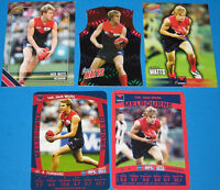 2011 Select AFL Champions & Teamcoach MELBOURNE Jack Watts + more