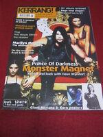 KERRANG! - MONSTER MAGNET - 18 Nov 2000