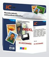 TRI-COLOUR INK CARTRIDGE FOR HP 300XL FOR HP PHOTOSMART ENVY 100 E-ALL-IN-ONE