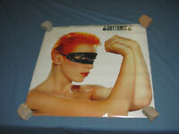 EURYTHMICS Touch PROMO Poster 1983 NICE Vintage