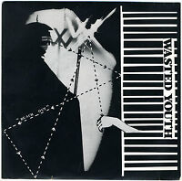 """WASTED YOUTH 'Reach Out' 7"""" unplayed 1982 Flesh For Lulu indie punk gothic"""