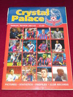 CRYSTAL PALACE -ANNUAL REVIEW 2001-2002