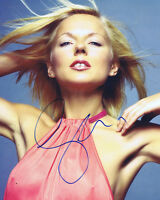 Geri Halliwell HAND SIGNED Autograph 10x8 Photo AFTAL COA Sexy Spice Girls Star