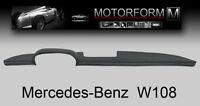 Mercedes W108 W109 250S 280SE 300SEL Armaturenbrett Cover Abdeckung dashboard