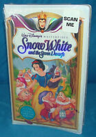 Snow White and the Seven Dwarfs (Walt Disney Masterpiece VHS 1994) **NEW**