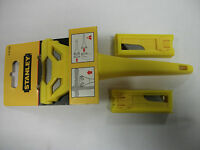GENUINE STANLEY SCRAPER + 21 STANLEY BLADES. MODEL 028 590. BRAND NEW.