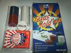 Texas Hold'em Set Kit 60 Fiches Chips mazzo di carte dealer regole JUEGO