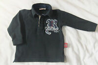 BABY BOYS/ TODDLER RED SOUND L/S POLO STYLE T-SHIRT AGE 12 MONTHS