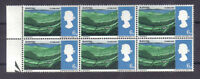 1966 Landscapes. 4d phospher. AN for AND variety. MNH block x 6.