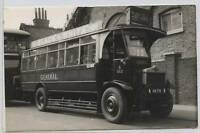 (at20) RP of London General Bus, XM 718 / S512, Kingston, Weybridge, Plain Back