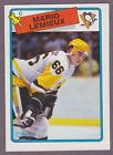 1988-89 O-Pee-Chee OPC Hockey Mario Lemieux #1 Pittsburgh Penguins NM/MT