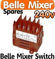 Belle Cement Concrete Mixer 240v ON OFF Switch Minimix 150 Spares Parts Electric