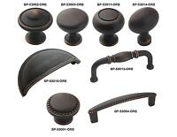 Amerock Oil Rubbed Bronze Rope Cabinet Hardware Drawer Knobs & Pulls