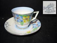 BEAUTIFUL BELL CHINA DEMI-TASSE CUP & SAUCER - PATTERN 3380 - HANDPAINTED [6]