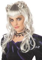 Moonlight Gothic Vampire Child Costume Wig - Grey
