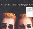 PET SHOP BOYS - You Only Tell Me You Love Me When You're Drunk - 2000 UK CD
