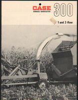 "CASE ""300"" Tractor Forage Harvester Brochure Leaflet"