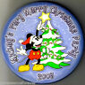 Disney Button Badge: WDW/Magic Kingdom Mickey's Very Merry Christmas Party 2003