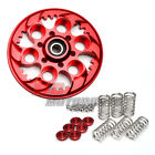 Billet Racing Style Ducati Red Clutch Pressure Plate Spring Retainer Caps Set