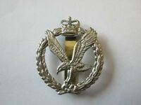 Army Air Corps Beret Cap Badge   British Military - Brass Base Metal