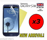 3x HQ CLEAR SCREEN  PROTECTOR COVER LCD GUARD FILM FOR SAMSUNG GALAXY S3 i9300
