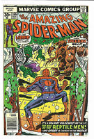 Amazing Spider-Man #166, Marvel 1977 Lizard, Stegron app. VFNM+
