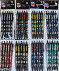 NFL Team Click Pens - 5 pack - ( All Teams ) Black Ink Official Licensed