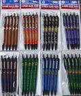 NCAA College Team Click Pens - 5 pack - Black Ink Official Licensed