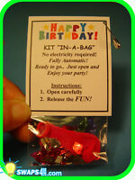 """Happy Birthday! Party-in-a-Bag - """"Girl Scout"""" SWAPS  Craft Kit  by Swaps4Less"""