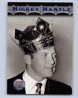 1996  MICKEY MANTLE - Stadium Club  Baseball Card # MM7 - New York Yankees