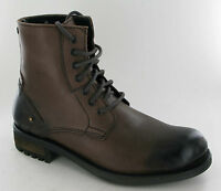 MEN'S MILITARY BASE LONDON COMBAT ARMY LACE UP ANKLE BOOTS UK SIZE 6 7 8 9 11 12