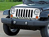 Jeep Wrangler JK Mopar Chrome Grille Assembly OEM - 82210558AD