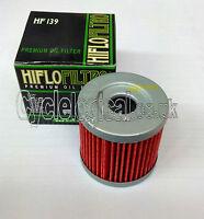 HifloFiltro HF139 Premium Oil Filter (For Compatibility See Description)