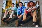 WORKAHOLICS CAST X3 SIGNED 8x10 PHOTO ADAM DEVINE ANDERS HOLM & BLAKE ANDERSON