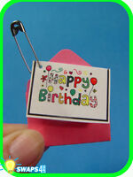 """HAPPY BIRTHDAY Card   """"Girl Scout"""" SWAPS  Craft Kit  by Swaps4Less.com"""