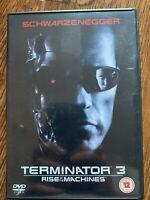 Arnold Schwarzenegger TERMINATOR 3: RISE OF THE MACHINES ~ 2-Disc UK DVD