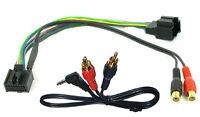Saab 9-3 9-5 aux adapter lead 3.5mm jack input car radio iPod MP3 CTVSAX001