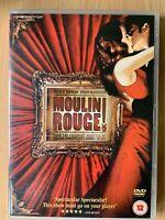 Nicole Kidman Ewan McGregor MOULIN ROUGE | 2001 Baz Luhrmann Musical | UK DVD