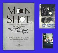 ALAN SHEPARD Autographed Signed Book NASA Moonwalker Astronaut Apollo 14 Lunar