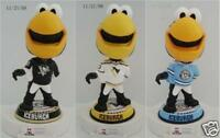 #6/150 Pittsburgh Penguins ICEBURGH Mascot Bobble Head 3 Piece Set (Bobblehead)