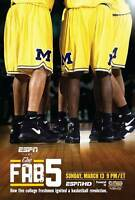 The Fab Five 11x17 Movie Poster - Style A ESPN